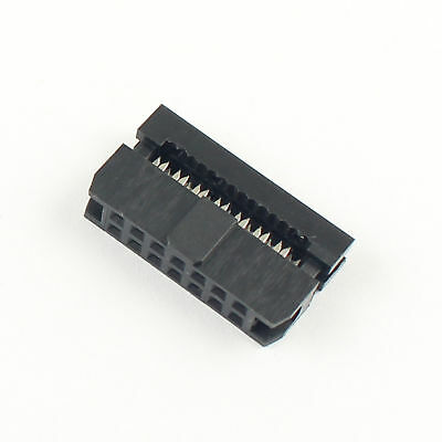 10Pcs 2mm Pitch  2x7 Pin 14 Pin IDC FC Female Header Socket Connector