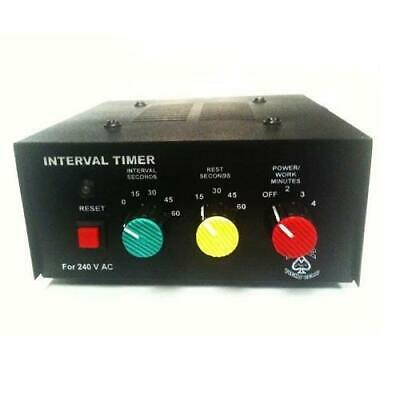 ACE FIGHT GEAR T1 INTERVAL WORKOUT TIMER BOXING ROUND TIMER Gym Sparring