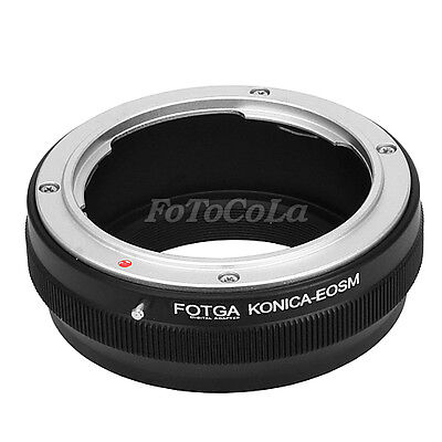 Fotga Adapter Konica AR Lens to Canon EOS M M2 M3 EF-M mount mirrorless camera