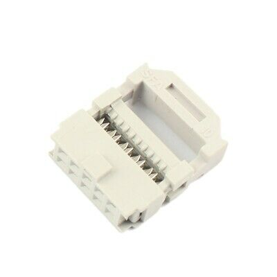 50 Pcs 2.54mm Pitch  2x5 Pin 10 Pin IDC FC Female Header Socket Connector