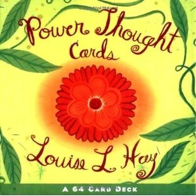 Power Thought Cards by Louise L. Hay (NEW)