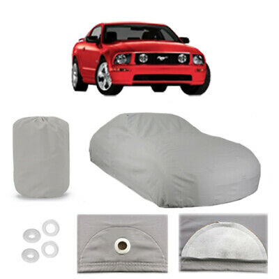 Ford Mustang 4 Layer Car Cover Fitted Outdoor Water Proof Rain Sun Dust 5th Gen