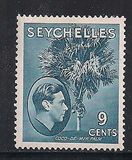 Seychelles Stamps- Scott # 131/A9-9c-Mint/LH-1938-41