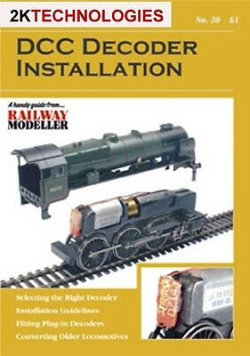 Peco SYH 20 The Railway Modeller Book DCC Decoder Installation New 16 pg Booklet