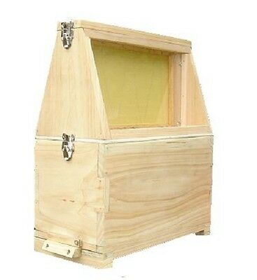 Observation Hive - Nuc - National Beehive - Cedar - Beekeeping - Teaching Aid