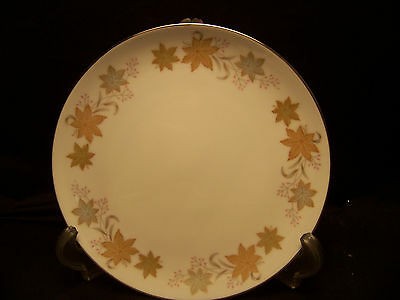 Two Lovely fine china Gayle pattern 3842 Japan 7 1/2 inch 2 salad plates