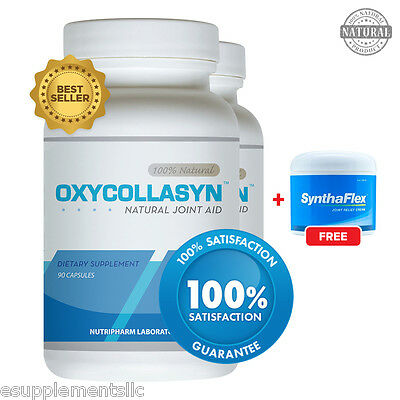 Oxycollasyn 2 pack and 1 Synthaflex (2oz) - Joint Pain Relief