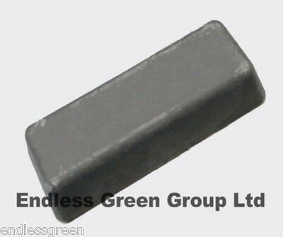 Coarse Honing paste - for sharpening metal on leather strop - GREY BAR 110g
