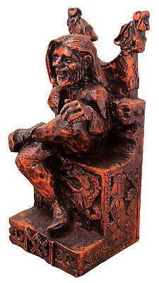 Seated Loki Statue - Dryad Designs - Norse God - Pagan Asatru Viking Wicca