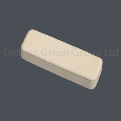 Jewellers White Polishing Compound Bar - WHITE ROUGE - buffing soap - 110g