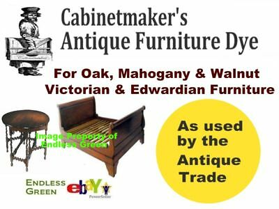 Victorian & Edwardian Antique Wood Furniture Dye - make your own wood dye 100g