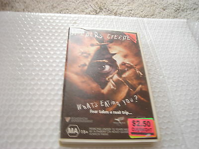 Jeepers Creepers - Gina Philips & Justin Long -  Video  Vhs