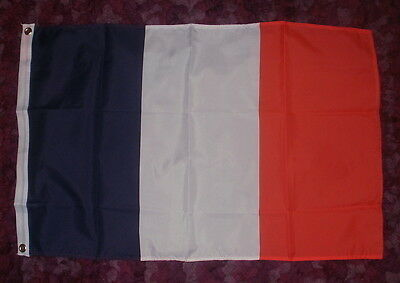 France Flag 2x3 French Francais Paris Cheese Wine WW2 EURO Resistance Rugby bn