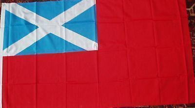 SCOTLAND ENSIGN St Andrew Scottish Scots Nationalist Boats Ships Medieval 5x3 bn