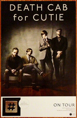 DEATH CAB FOR CUTIE Codes And Keys Ltd Ed Discontinued Poster +FREE Indie Poster