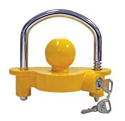 """Universal Trailer Coupler Lock Fits 1 7/8"""" ,2"""" and 25/16"""" Balls Trailer Hitch"""