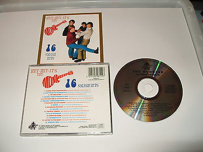 The Monkees - Hey Hey It's the Monkees (16 Hits, 1994) -cd is excellent