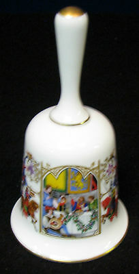 "5 in.The  Romance of Camelot ""A Great Feast at Camelot"" bone china bell"