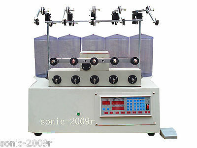 5 reels computer cnc automatic coils winder winding machine for transfomer US1#