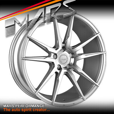 MARS MP-RH Silver 22 Inch Alloy Wheels Rims 5x112 Benz ML GL GLE GLS AUDI Q5 Q7