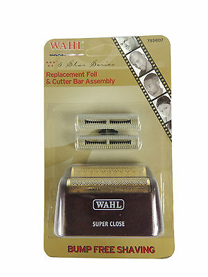 Wahl Pro Replacement Foil & Cutter Bar Assembly for 5 Star Shaver 7031-100 Parts