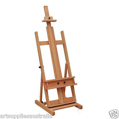 Studio Easel- Heavy Duty Beechwood- Premium Quality-Hold canvas up to 220cm-PP