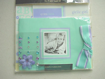 Fotoalbum Scrapbook Set Mini Meg Girlie Girl Sticker Making Memories Einzelstück