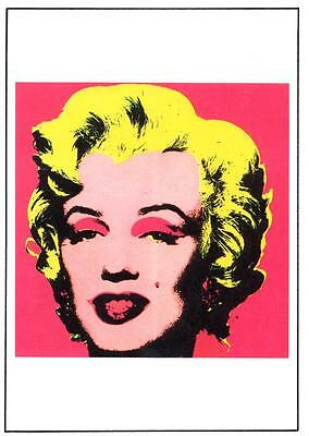 ANDY WARHOL POSTER MARILYN MONROE 1967 LONDON EXHIBITION in MINT