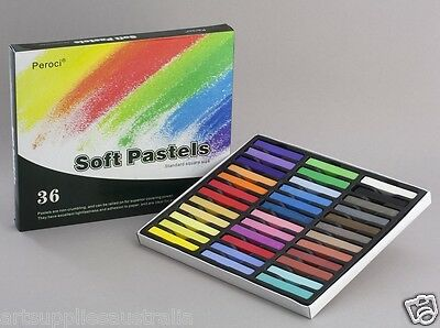 Peroci Soft Pastel Set 36 -Purest Pigments -PSP36
