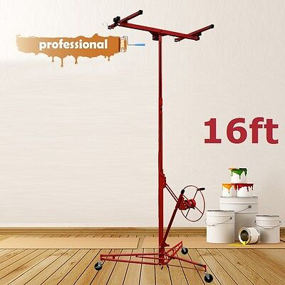 New 16ft Drywall Plasterboard Gyprock Panel Lifter Lift