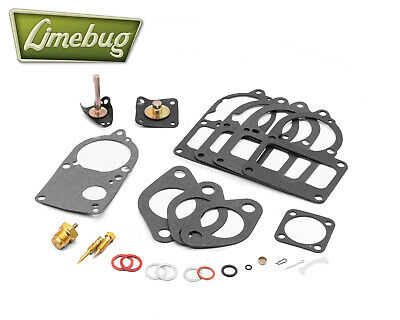 VW Beetle / Solex 28-34 PICT Complete Carb Rebuild Carburetor Repair Kit T1 T2