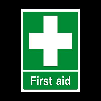 First Aid Point Signs & Stickers All Sizes! All Materials! Free P+P (Faid22)