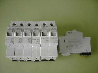 Crabtree MCB Circuit Breaker Fuse - (Several Sizes 6A 10A 16A 20A 32A 40A 50A)