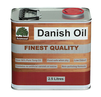 Danish Oil, Bestwood, 2.5 Litres, FINEST QUALITY, LOWEST PRICE