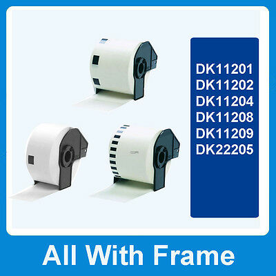 1 5 10 20 50 Rolls Compatible Address Labels DK-11201 11202 11204 11208 11209