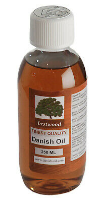 Danish Oil, 250ml, Finest Quality + High Solids + Lowest Price = SUPERB VALUE!