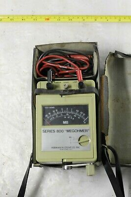 Herman H Sticht Inc. Megohmmeter 800 Series