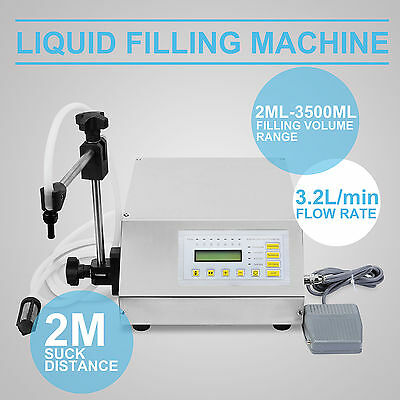 Liquid Filling Machine Stainless Steel Pvc Plastic Material Self Prime Pump