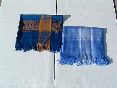 NEW Scarf or wrap andean pashmina and cotton brown colors