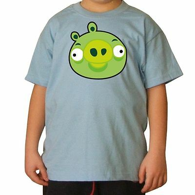 T-SHIRT BAMBINO ANGRY BIRDS 10 by SHIRTSERVICE