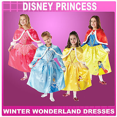 Disney Princess Winter Wonderland Belle Snow White Sleeping Beauty & Cinderella