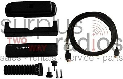 New Motorola Cdm750 Rln4801A Remote Head Mount Kit With 3 Meter Cable Rkn4077A