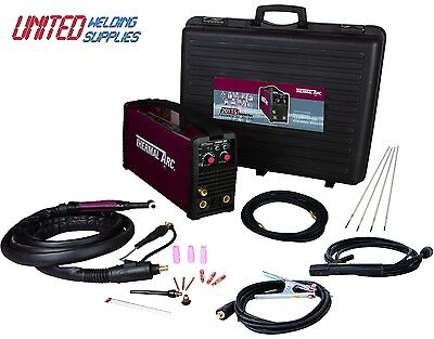 Thermal Arc 201TS 200amp(110/230V) Dual voltage Inverter Tig welding package