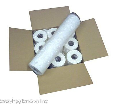 50M COUCH ROLL 20 INCH (50cm) wide 9 Paper Rolls 50M FULL CASE EXTRA LONG 24hr