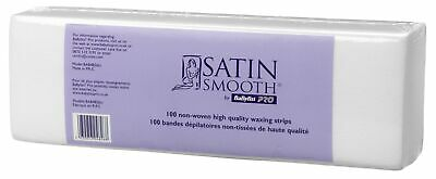 Babyliss Pro Satin Smooth Non-Woven Body Hair Rremoval Waxing Strips Pack of 100