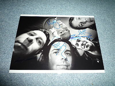 MARILLION signed autograph In Person 8x11 (20x28 cm ) full band