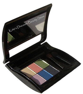 Filled Mary Kay Black Compact ~ You Choose Any 6 Eye Shadows ~ With Applicators