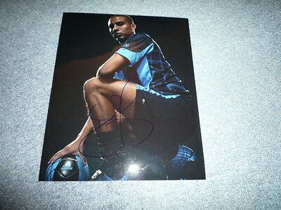 DAVID TREZEGUET signed Autogramm  In Person 20x25 cm WELTMEISTER 1998
