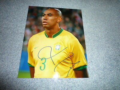 LUISAO signed Autogramm  In Person 20x25 cm BRASILIEN