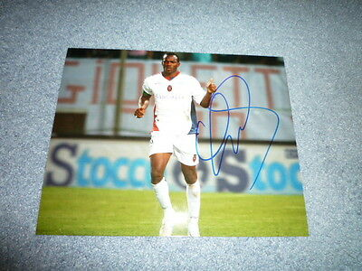 DAVID SUAZO signed Autogramm  In Person 20x25 cm HONDURAS